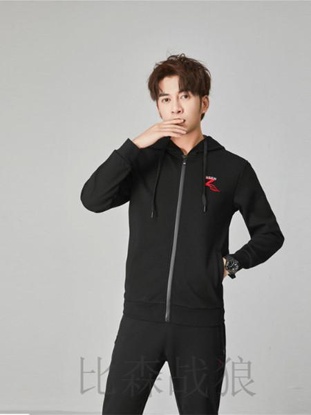 比森战狼男装品牌2019秋冬新品