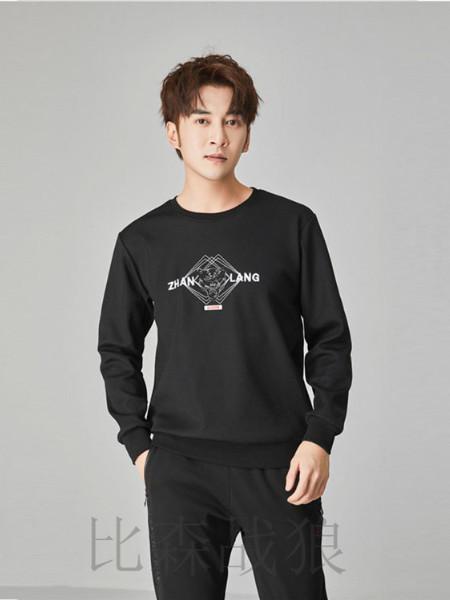 比森战狼男装品牌2019秋冬新品4806