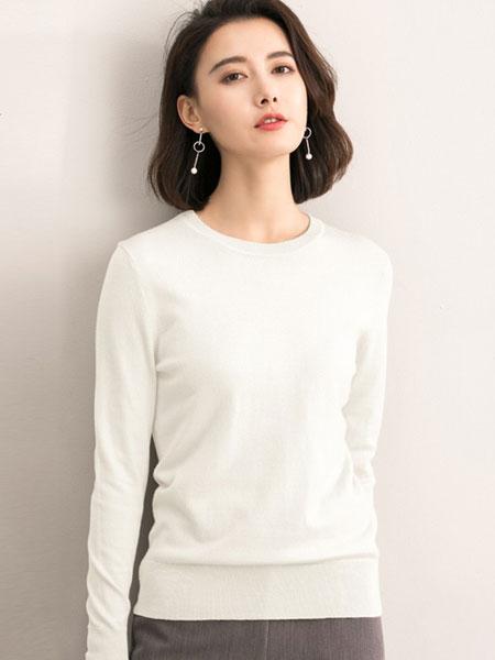 洛薇雅女装品牌2019秋冬修身保暖打底衫