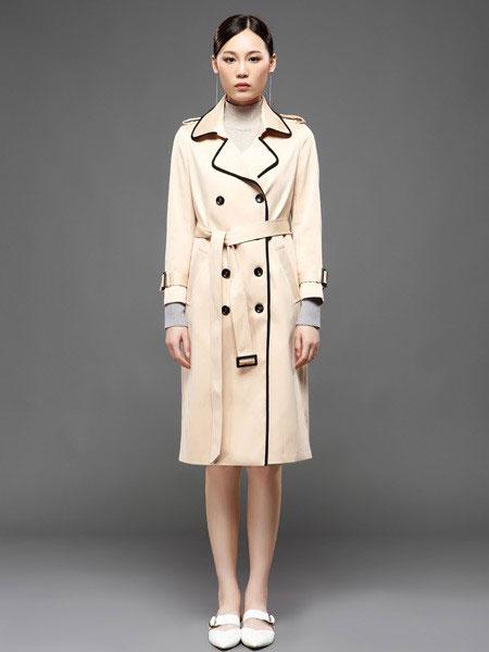 KAIBOLEI女装品牌2019秋冬时尚气质风衣外套