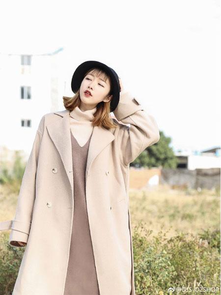 DJS.女裝品牌2019秋冬時尚毛呢外套