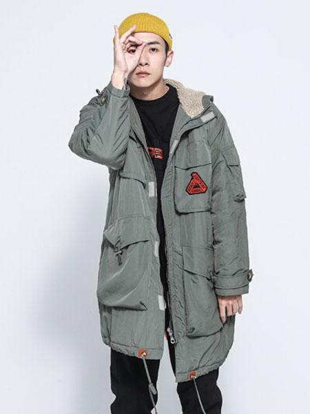 Lightning bear熊电男装品牌2019秋冬保暖棉服