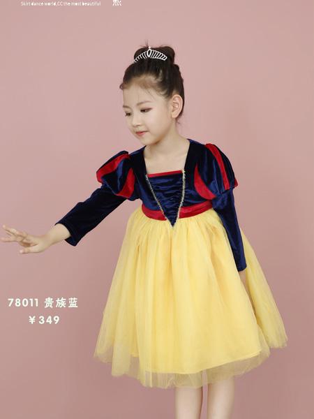Ceicei熙熙童装品牌2019秋冬连衣裙