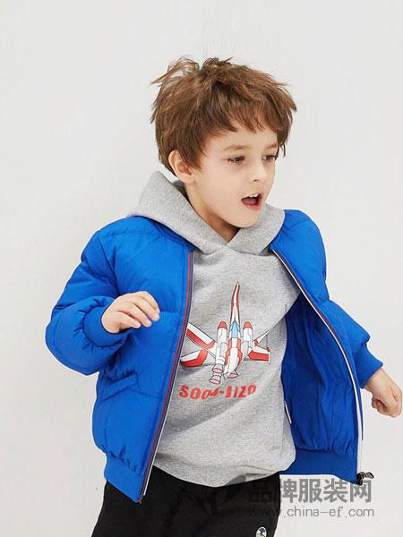 马骑顿童装品牌2019秋冬保暖羽绒服