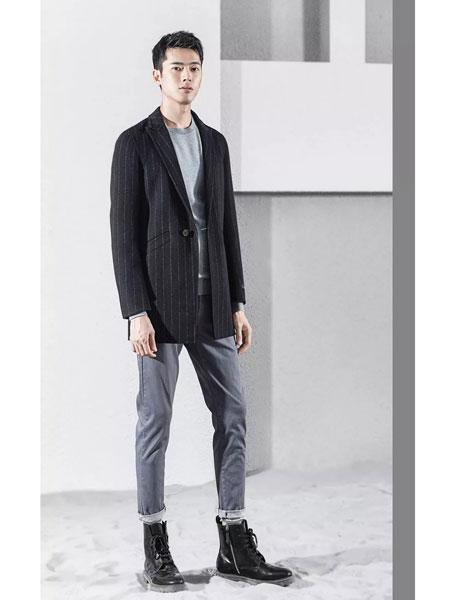 1943S男装品牌2019秋冬休闲男士西装外套