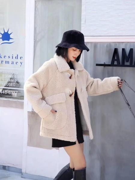 貂绒大衣品牌2019秋冬新品