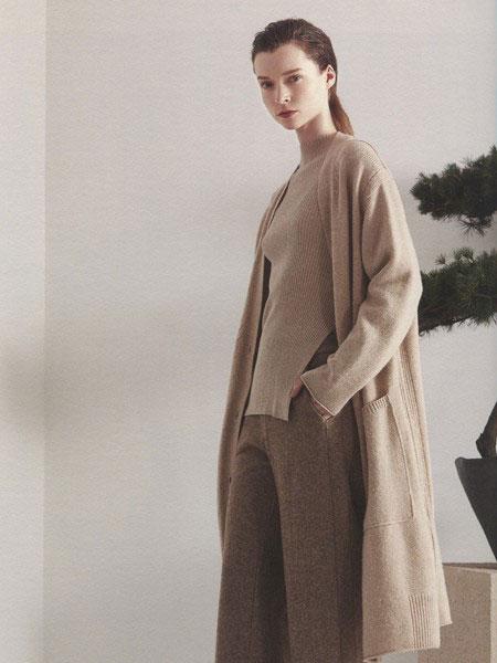 点占女装品牌2019秋冬羊毛衫开衫外套
