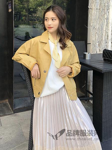 18Fans女装品牌2019秋冬夹克