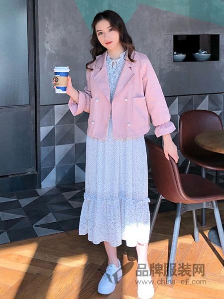 18Fans女装品牌2019秋冬显瘦外套