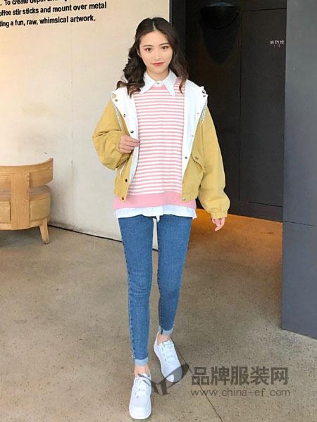 18Fans女装品牌2019秋冬针织