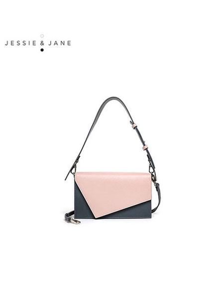 JESSIE&JANE及简箱包品牌2019秋冬女包新款秋手提包休闲托特包单肩包
