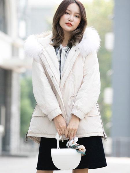 Aline阿莱女装品牌2019秋冬轻薄保暖羽绒服