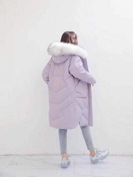 芊伊朵女装品牌2019秋冬舒适轻薄保暖羽绒服