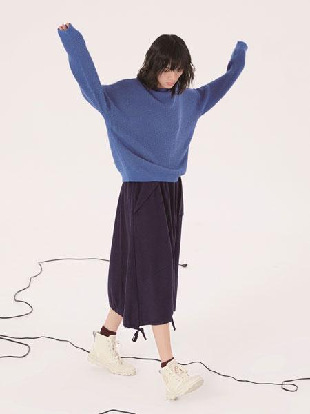 述忘女装品牌2019秋冬保暖羊毛衫套头衫