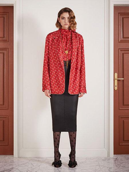 Fendi芬迪女装品牌2019秋冬气质外套