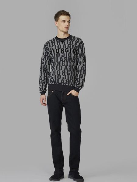 Giorgio Armani乔治·阿玛尼男装品牌2019秋冬羊毛衫打底衫