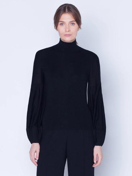 Akris Punto国际品牌品牌2019秋冬加绒保暖打底衫