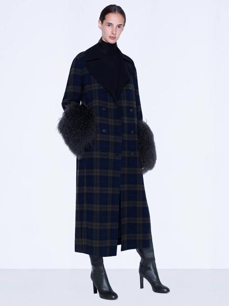 Akris Punto国际品牌品牌2019秋冬时尚毛呢外套