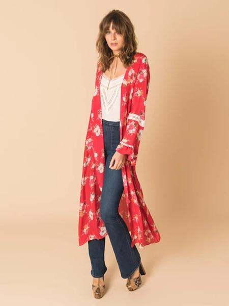 Athena Procopiou女装品牌2019秋冬宽松长款开衫外套