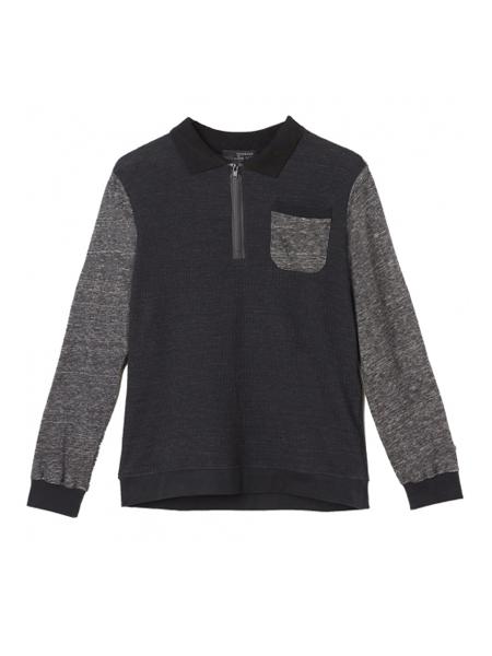 Armand Basi国际品牌品牌加绒;拉链卫衣