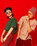麟术CHINISM男装品牌2019条纹T恤