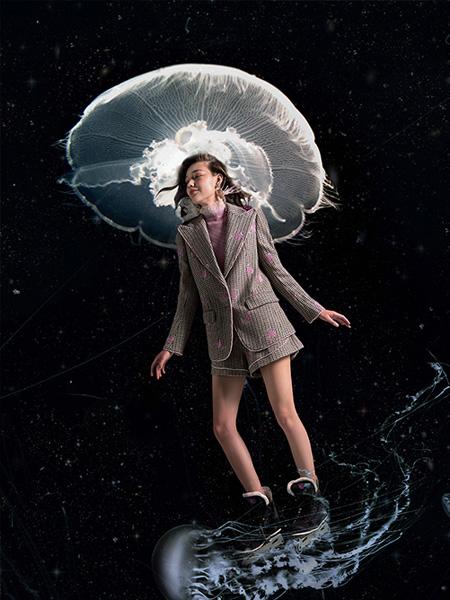 OceanFlame女装品牌2019秋冬新款两件套