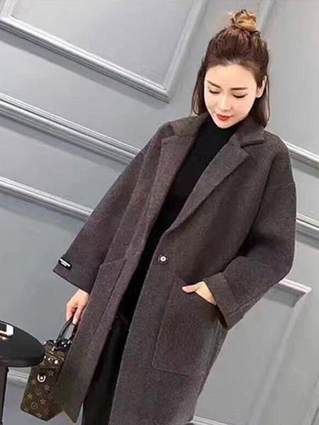 芝麻E柜女装品牌2019秋冬时尚大衣
