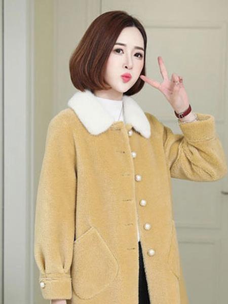 芝麻E柜女装品牌2019秋冬保暖外套