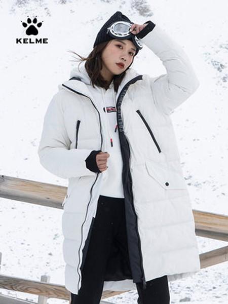 卡尔美休闲品牌2019秋冬登山保暖羽绒服