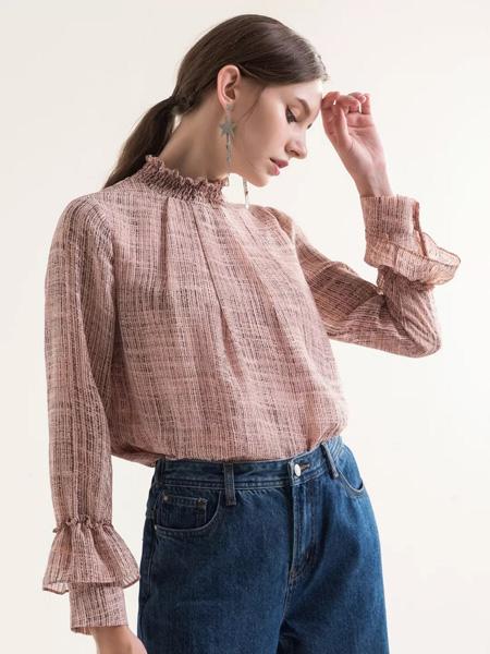 MaxTu女装品牌2019秋冬舒适雪纺上衣