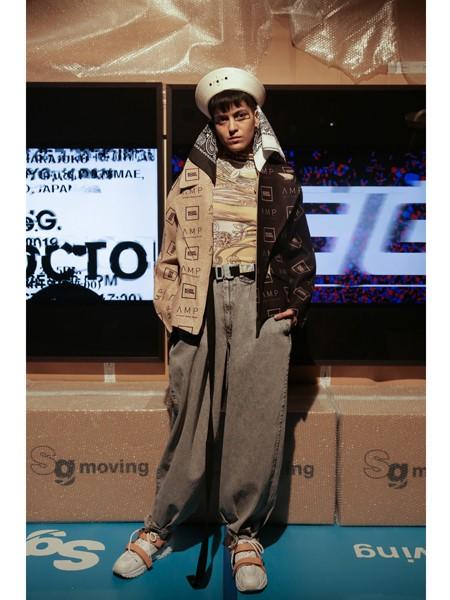 Bodysong国际品牌品牌撞色夹克