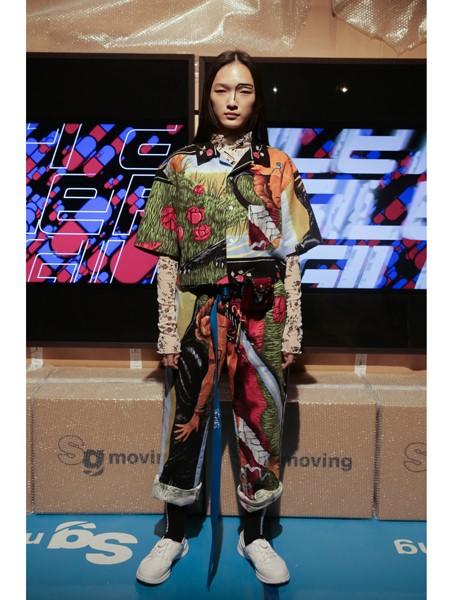 Bodysong国际品牌品牌印花半袖