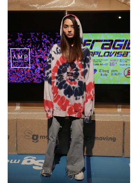 Bodysong国际品牌品牌印花时尚上衣