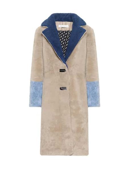 Saks Potts国际品牌品牌时尚双面穿毛呢大衣