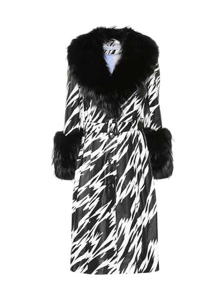 Saks Potts国际品牌品牌毛绒大衣