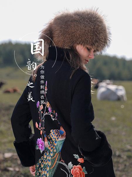 袯荟女装品牌2019秋冬少数民族外套