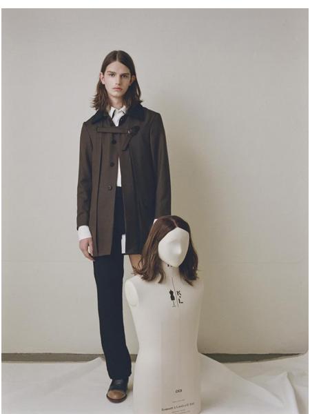 Nobuyuki Matsui国际品牌品牌干练外套