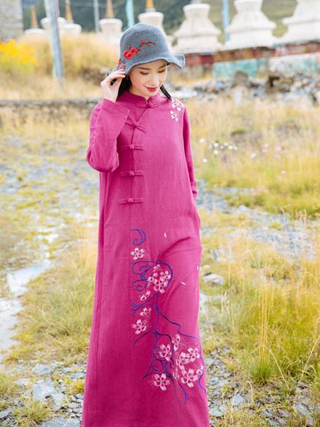 尤瑾女装品牌2019秋冬旗袍
