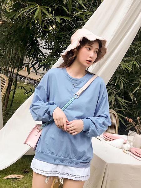 欧蕾芭女装品牌2019秋冬新款卫衣