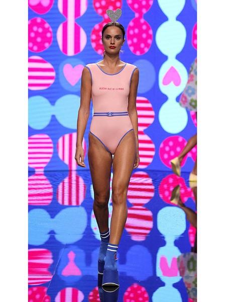 Agatha Ruiz de la Prada国际品牌品牌纯棉修身连体内衣