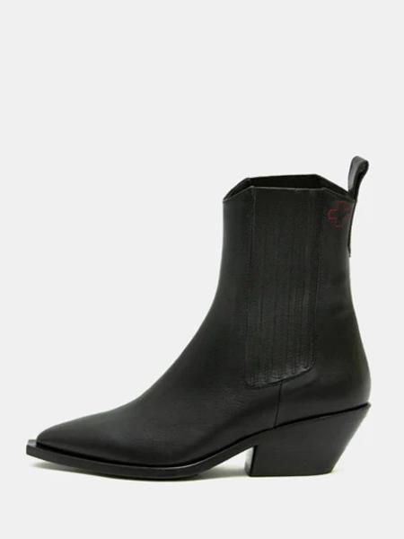 A.F.Vandevorst国际品牌粗跟高跟鞋
