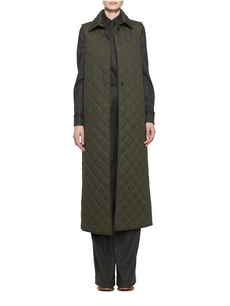 Gabriela Hearst国际品牌品牌时尚军绿色外套