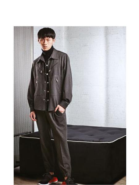 Alessandro Dell'Acqua国际品牌品牌休闲衬衫外套