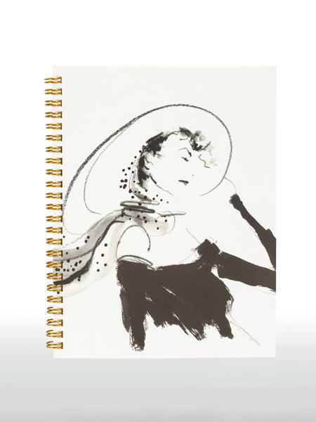 Alfred Sung国际品牌插画美女笔记本
