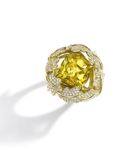 Asprey国际品牌品牌钻石时尚戒指