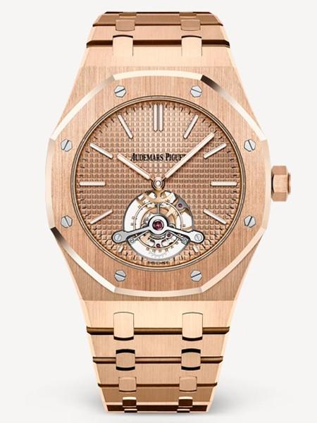 Audemars Piguet爱彼国际品牌玫瑰金手表