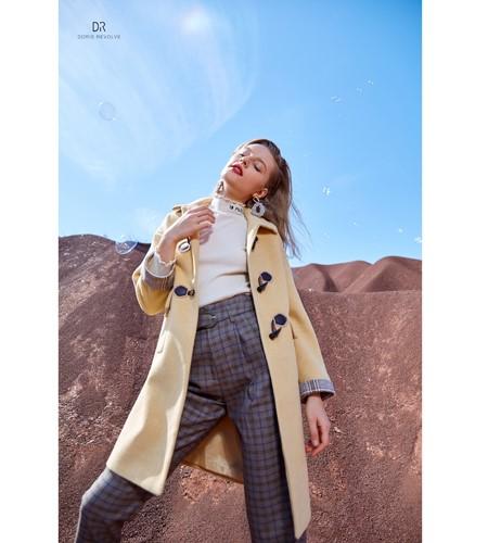 CLORIS MAAT、DR女装品牌2019秋冬长款毛呢外套