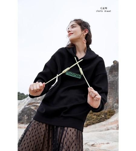 CLORIS MAAT、DR女装品牌2019秋冬连帽卫衣