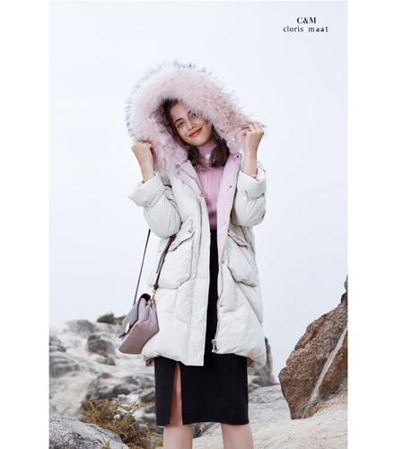 CLORIS MAAT、DR女装品牌2019秋冬毛绒羽绒服