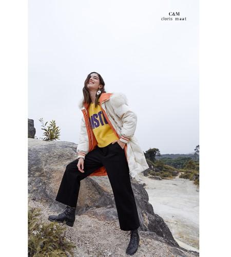 CLORIS MAAT、DR女装品牌2019秋冬双面穿羽绒服